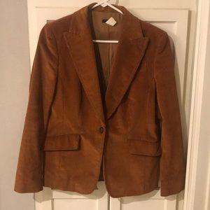 J Crew Corduroy blazer brown